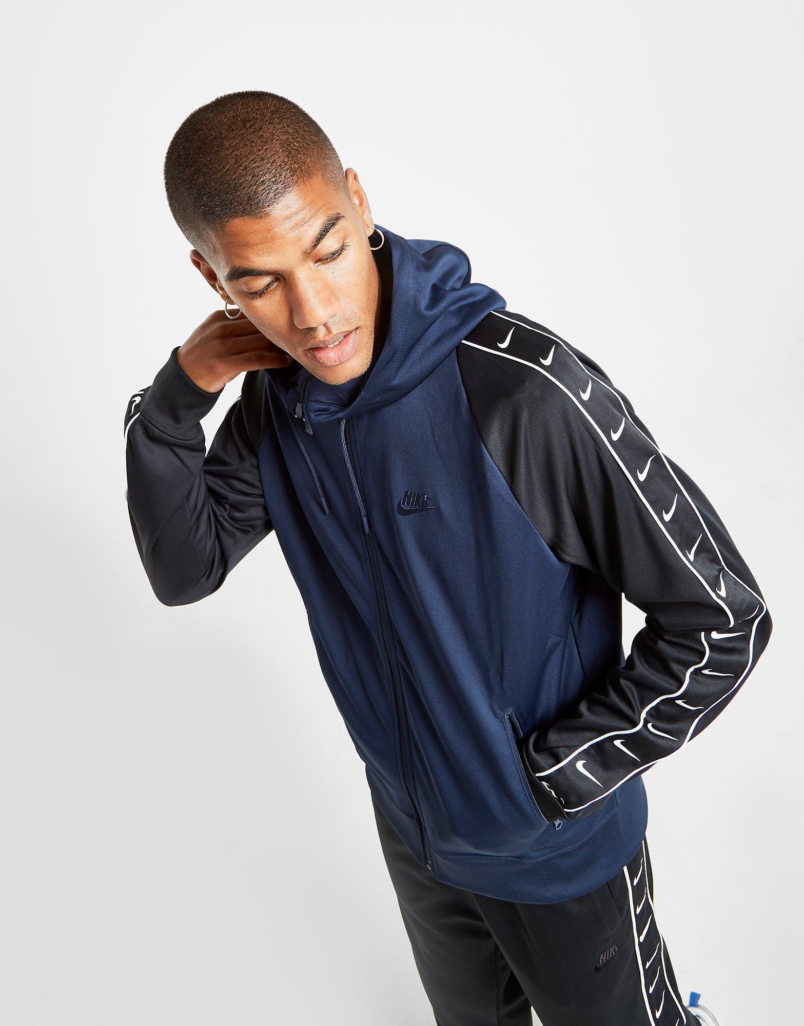 Nike Sweat à capuche Tape Zippé Homme | JD Sports