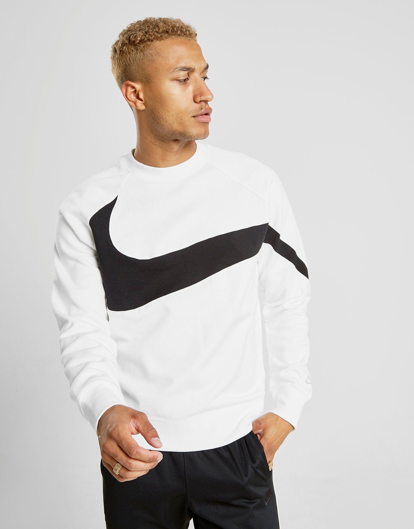 nike-swoosh-bb-crew-sweatshirt by nike