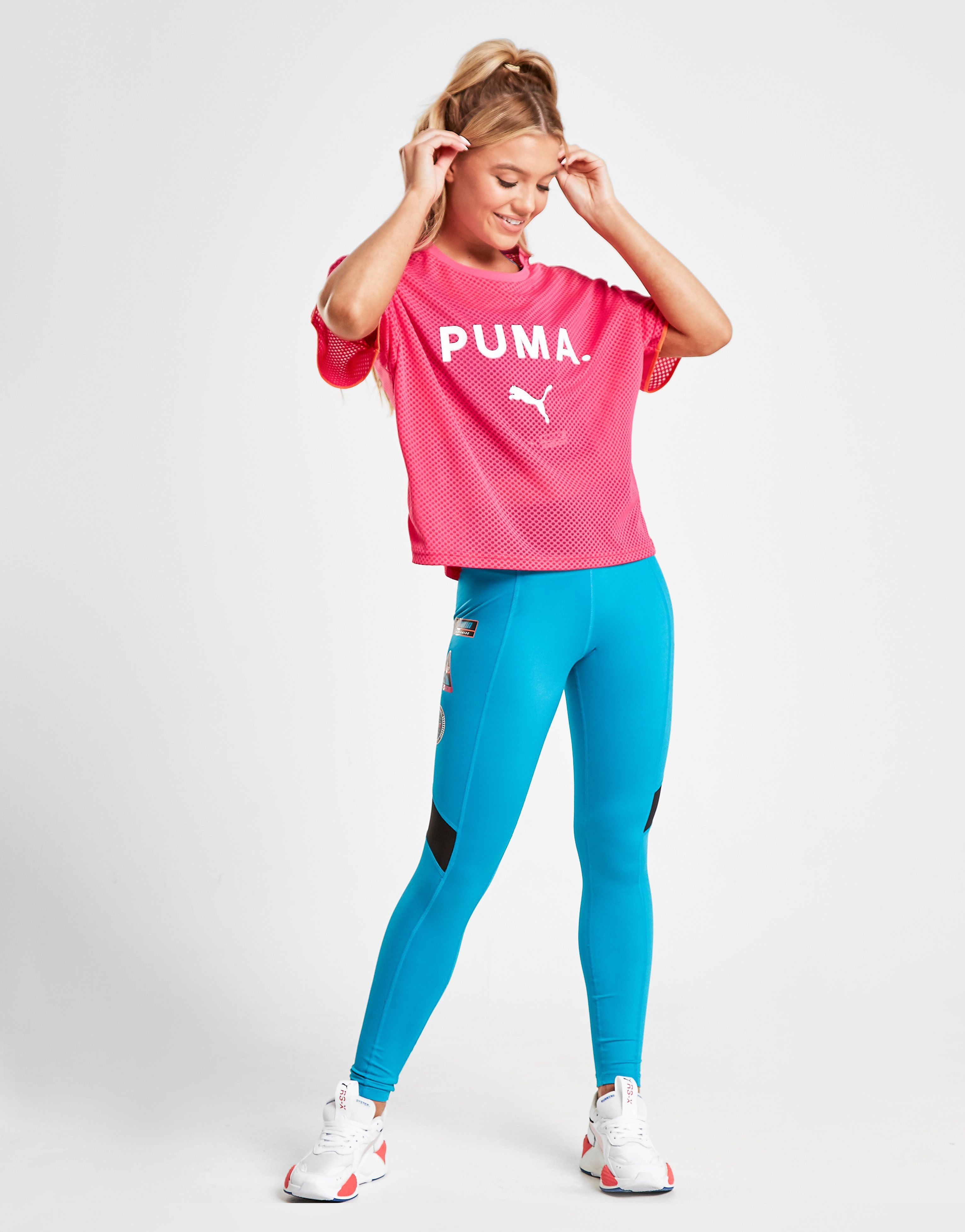 PUMA Chase Mesh T-Shirt