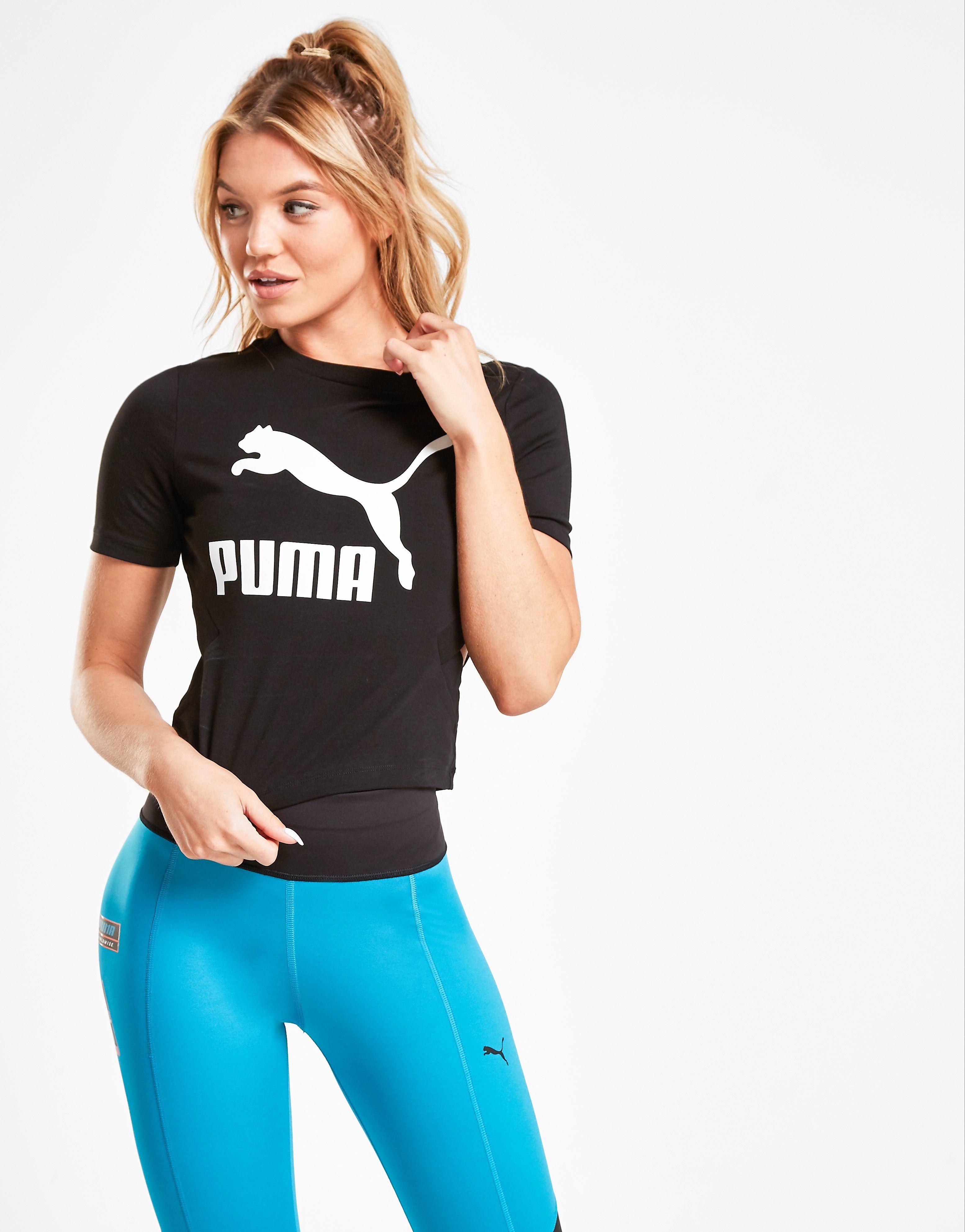 PUMA Classic Cut Out T-Shirt