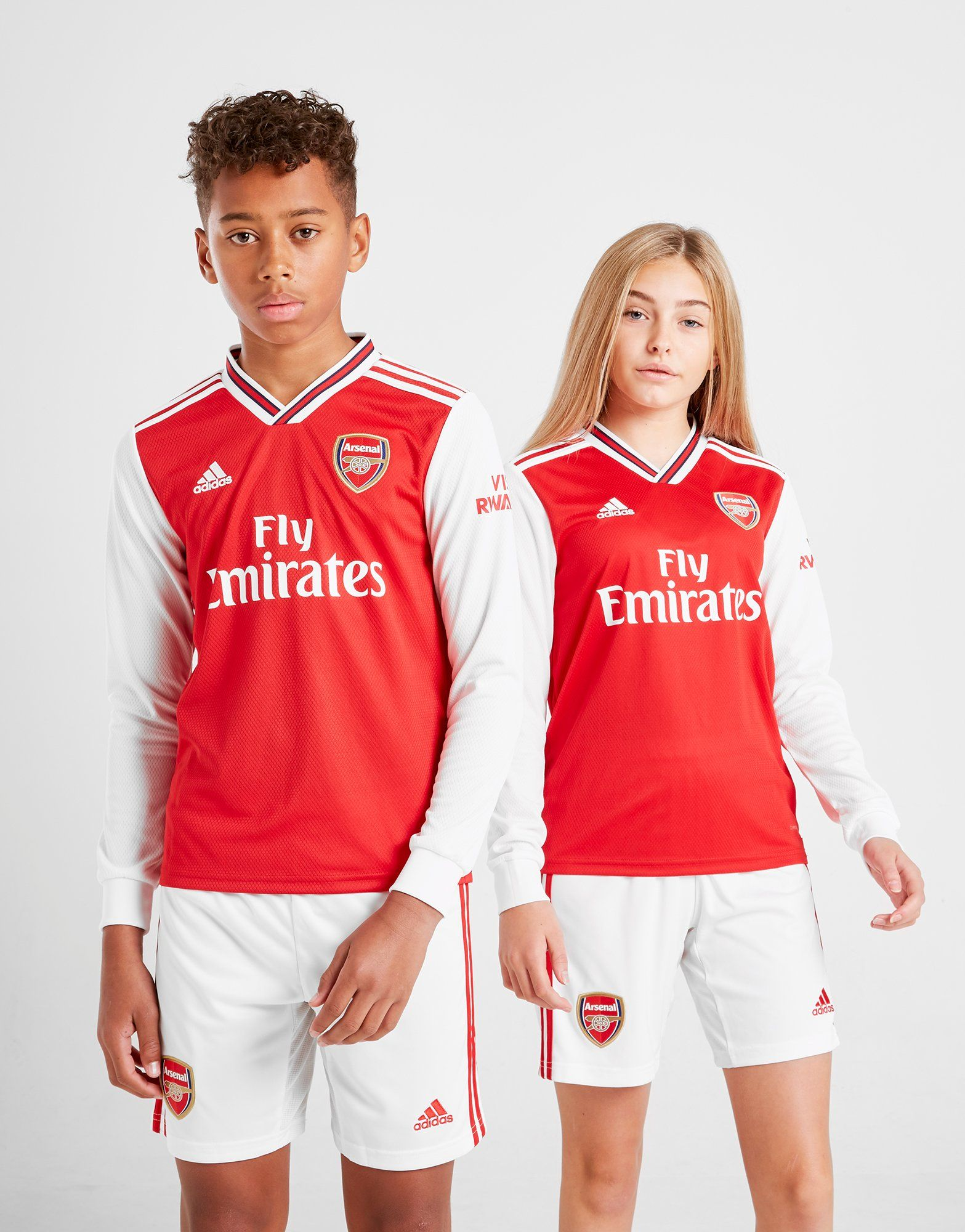 size 40 4c862 5dfc1 adidas Arsenal 2019/20 Long Sleeve Home Shirt Junior | JD Sports