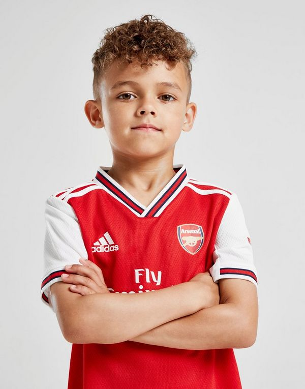outlet store sale 5361b fc078 adidas Arsenal FC 2019/20 Home Kit Children | JD Sports