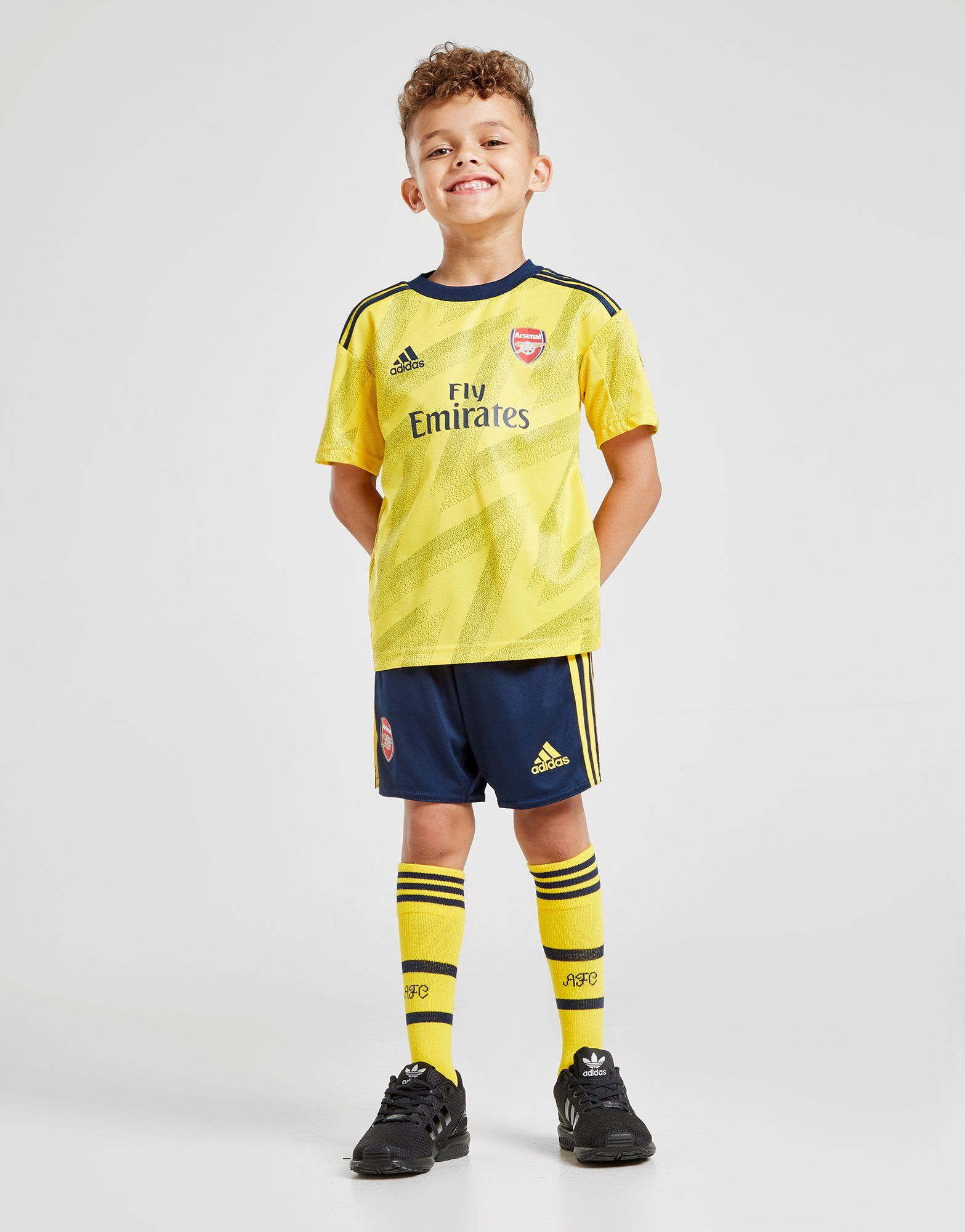 promo code bee52 456c4 adidas Arsenal FC 2019/20 Away Kit Children | JD Sports