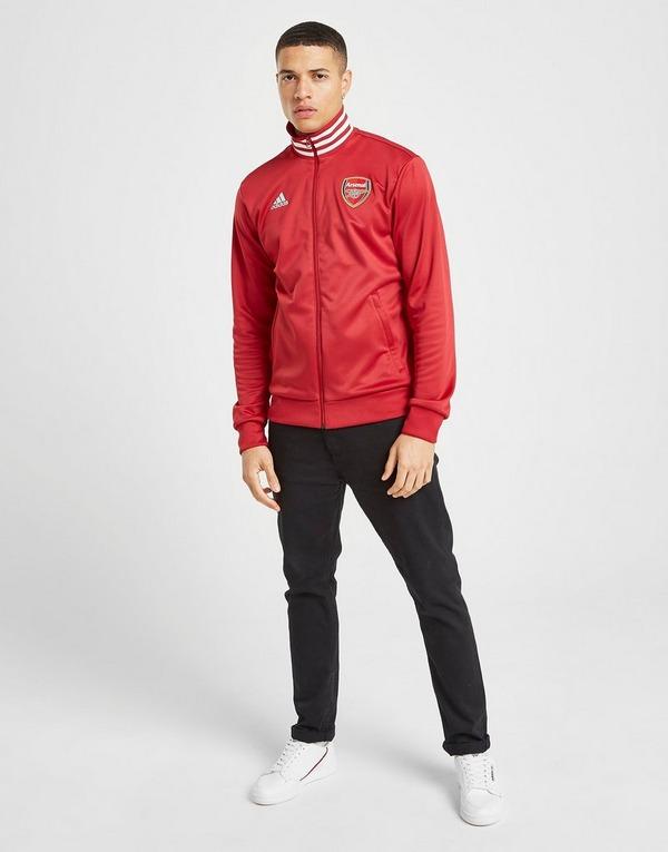 adidas AC Milan 3 Stripes Track Jacket White adidas Men's