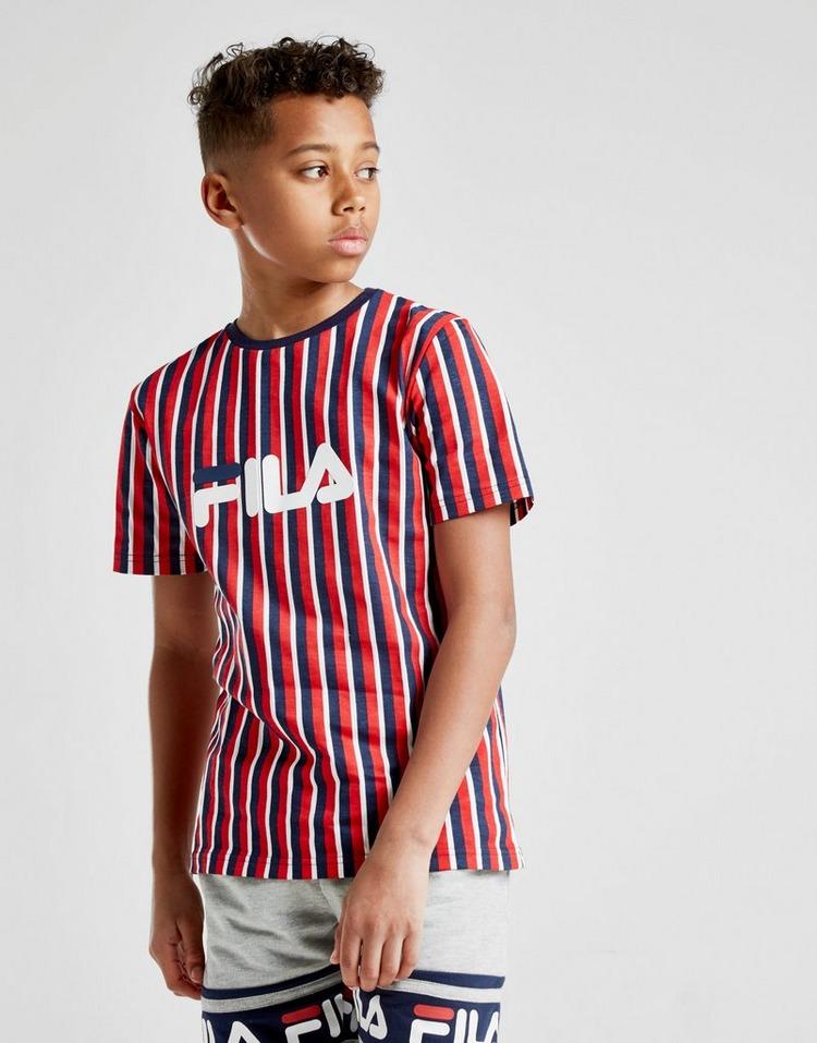 Fila camiseta Pluto Stripe júnior