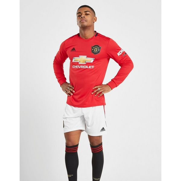 bb67510a3 adidas Manchester United FC 19 20 Home Shorts ...