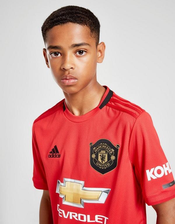 adidas Manchester United 19/20 Home Shirt Junior