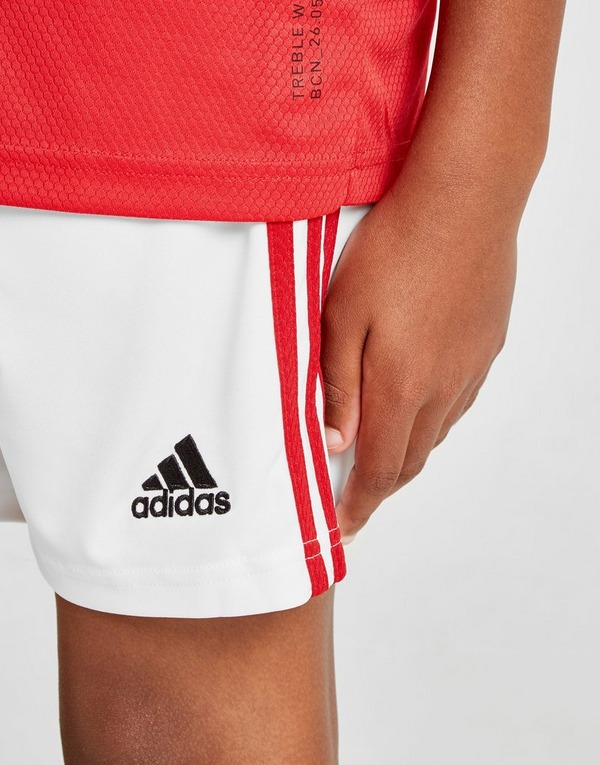 adidas Manchester United 19/20 Home Shorts Junior