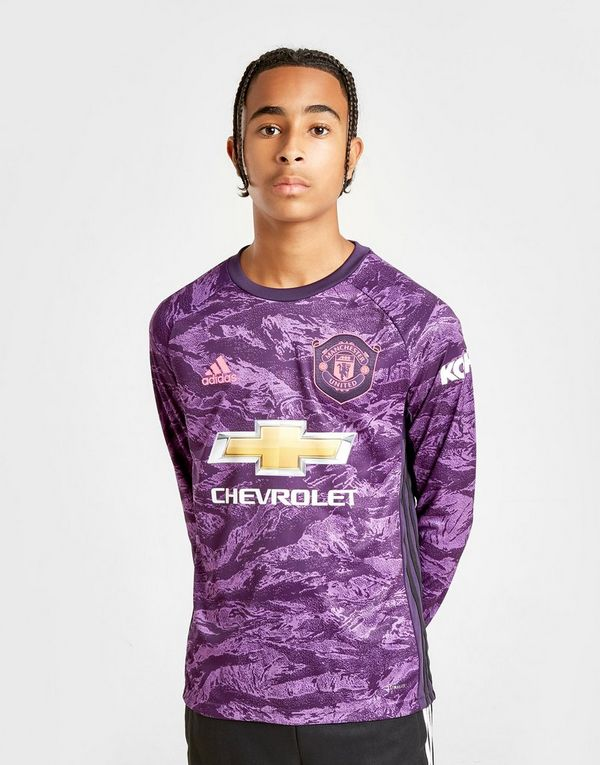 c239c883efa adidas Manchester United 19 20 Keeper Home Shirt Jnr