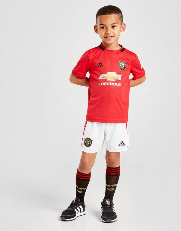 adidas Manchester United 19/20 Home Kit Children