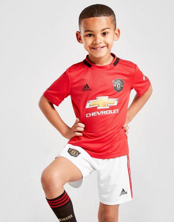52065afe7dc adidas Manchester United 19 20 Home Kit Children