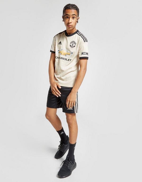 adidas pantalón corto Manchester United FC 2019/20 2.ª equipación júnior