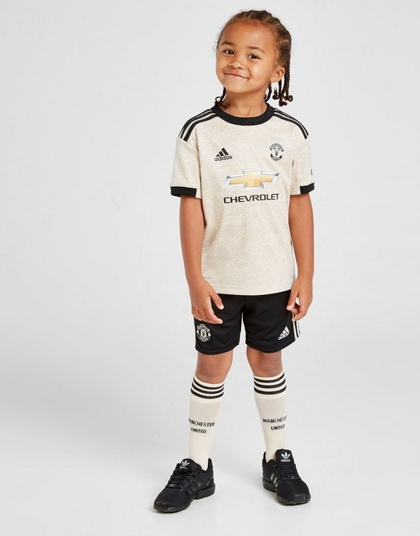 adidas Manchester United FC 2019/20 Away Kit Children