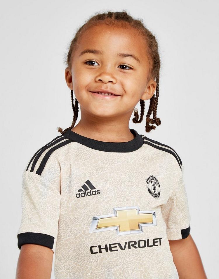 adidas conjunto Manchester United FC 2019/20 2.ª equipación infantil