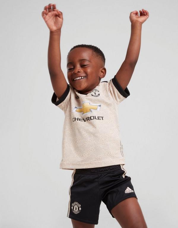 adidas Manchester United FC 2019/20 Away Kit Infant