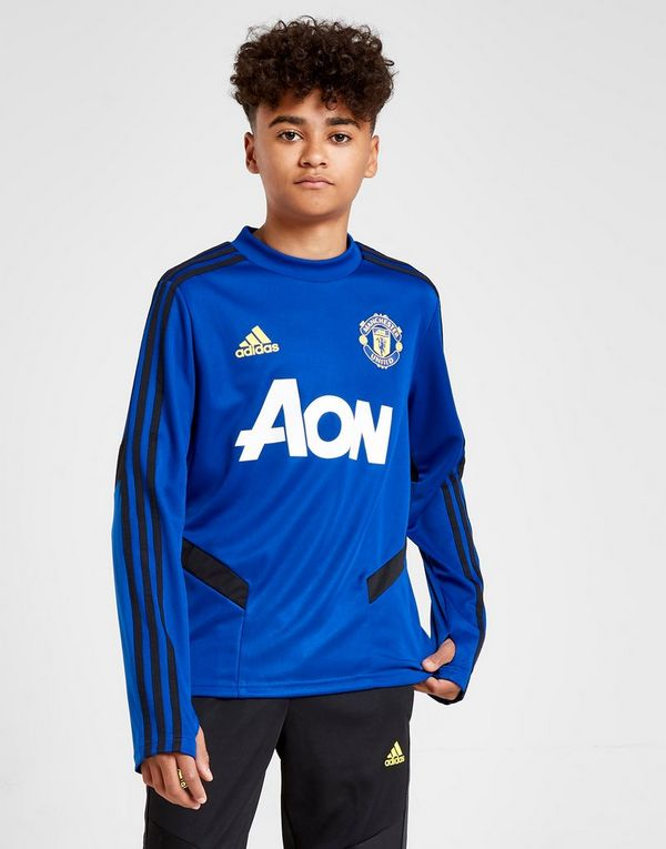 separation shoes d025a 2636a adidas Manchester United FC Training Top Junior | JD Sports