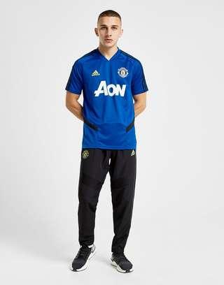 brand new 21e62 52430 adidas Manchester United FC Training Shirt | JD Sports