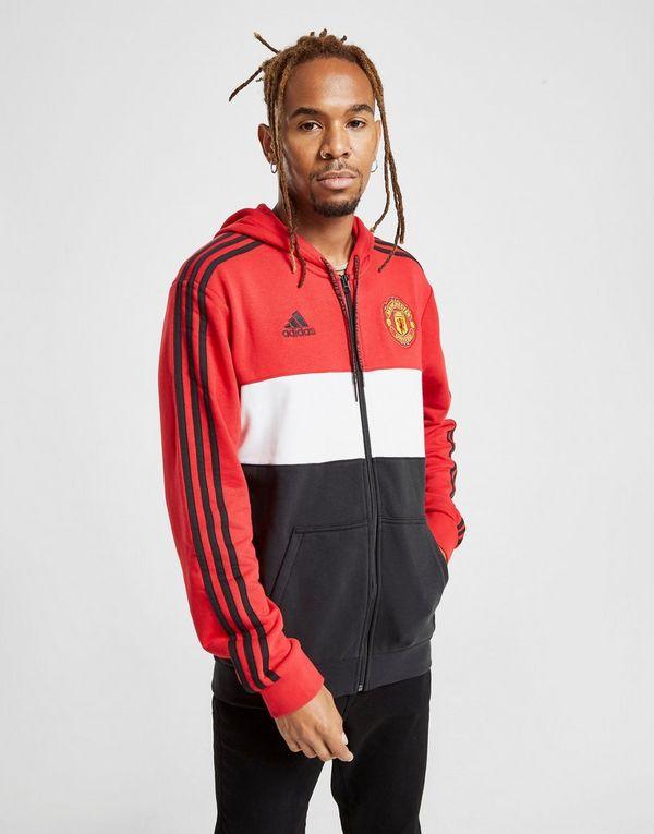 d18b526ad2b9e adidas Manchester United FC Hoodie | JD Sports