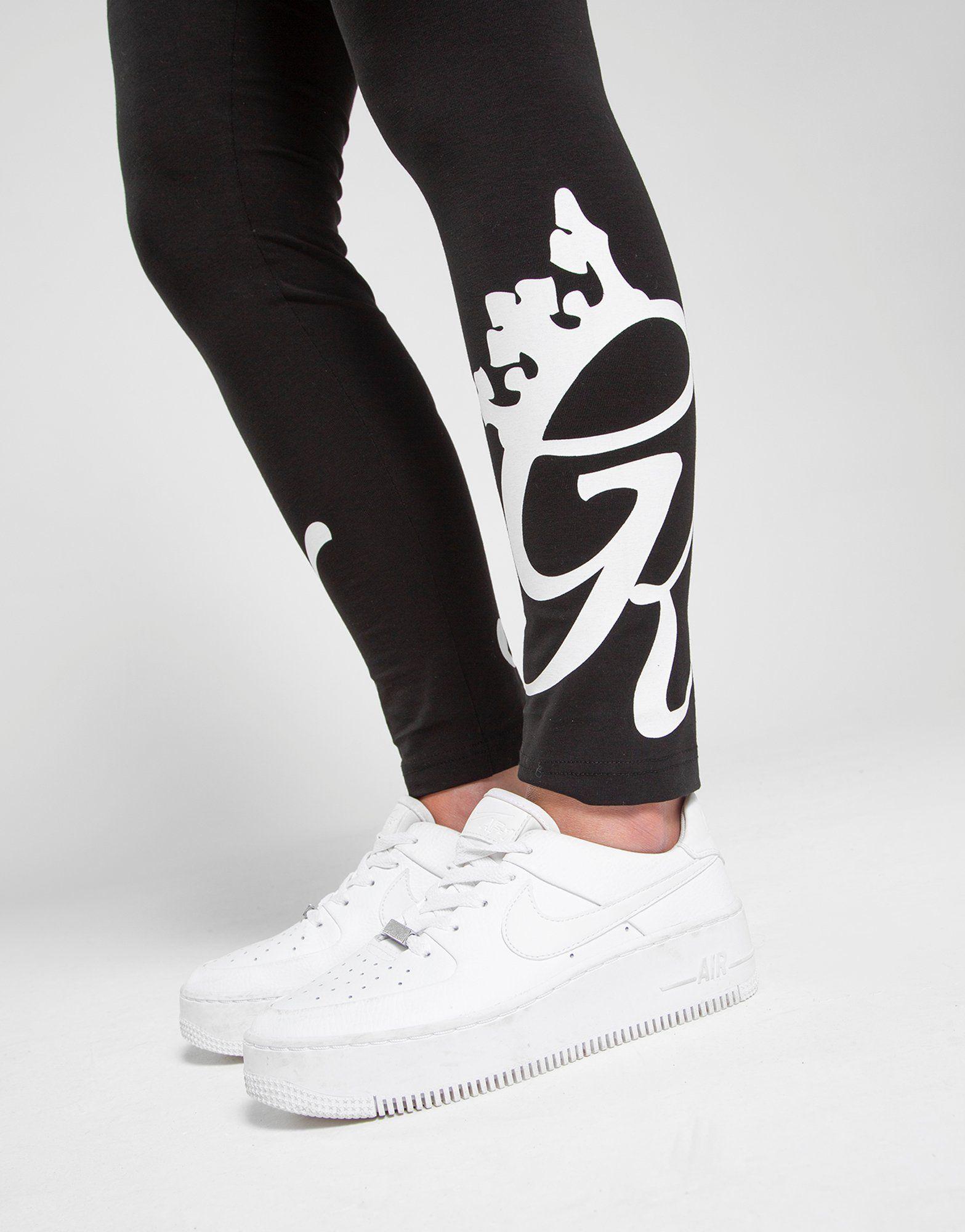 Gym King Ankle Logo Leggings