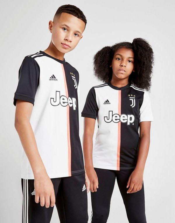 bcc557f2f85 adidas Juventus FC 19 20 Home Shirt Junior