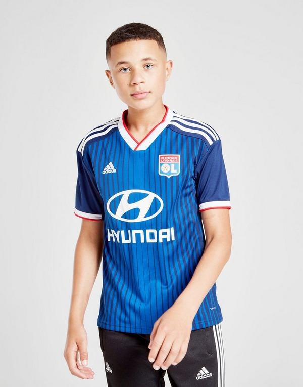 Hacia atrás Interesar ventaja  Buy adidas Olympique Lyon 19/20 Away Shirt Junior | JD Sports