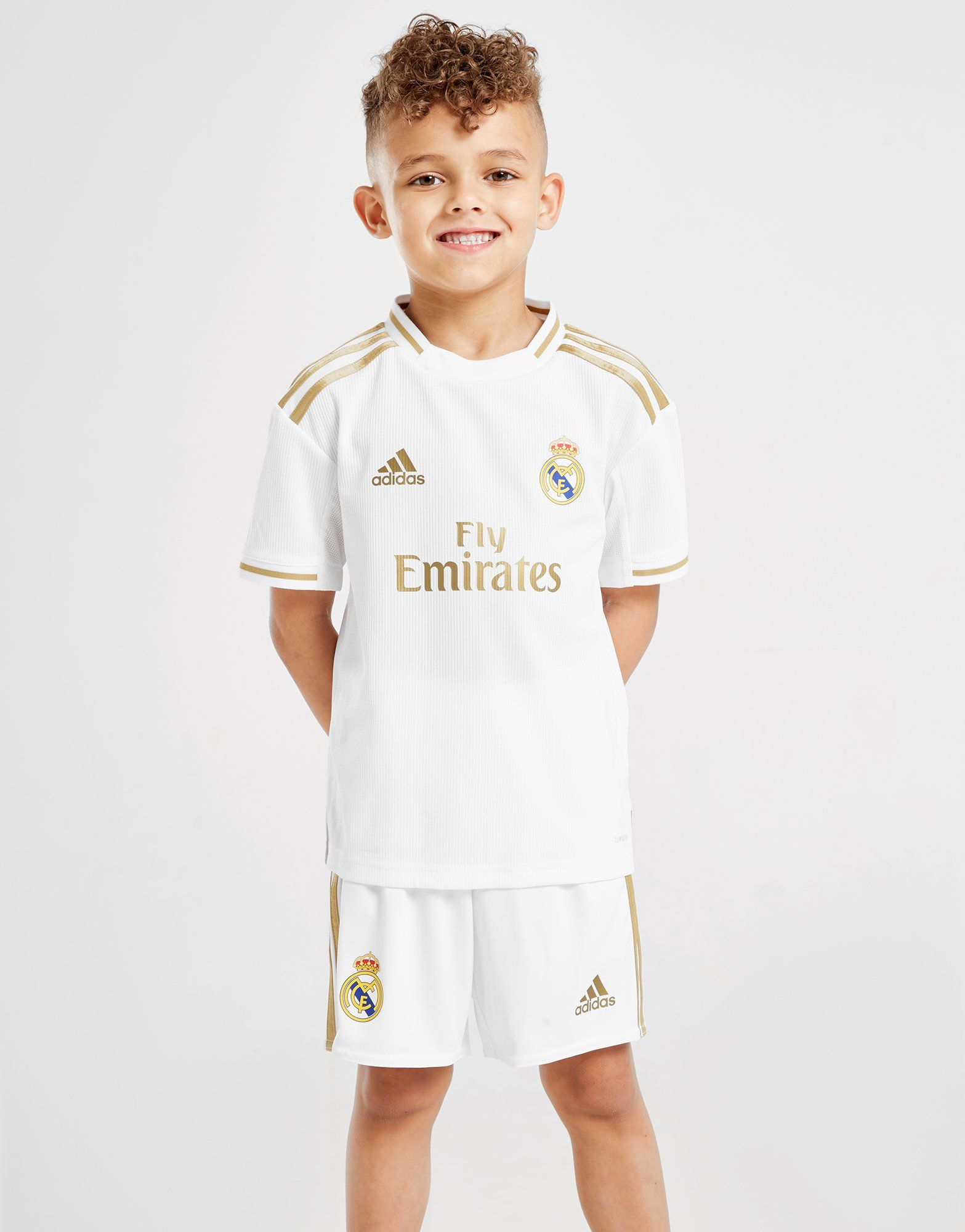 pretty nice 5bfbe 1a840 adidas Real Madrid 2019/20 Home Kit Children | JD Sports