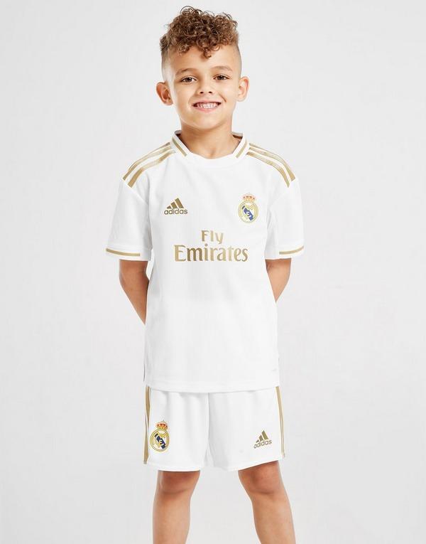 adidas Real Madrid 2019/20 Home Kit Children