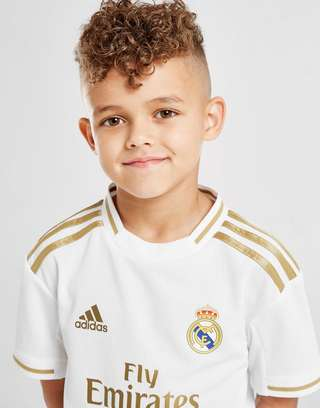 pretty nice 0166b 8a149 adidas Real Madrid 2019/20 Home Kit Children | JD Sports
