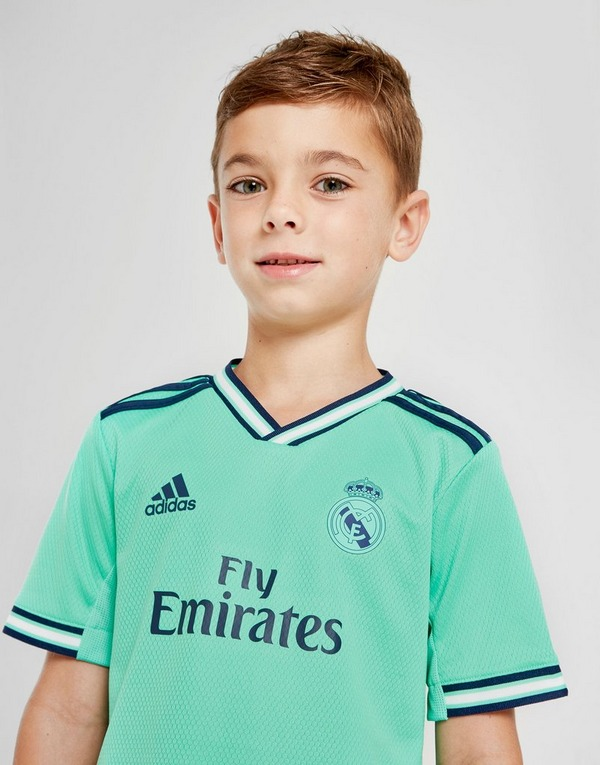adidas Real Madrid 2019/20 Third Kit Children