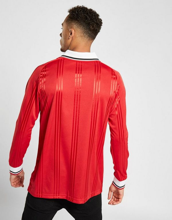 adidas Manchester United FC Icons Long Sleeve T-Shirt