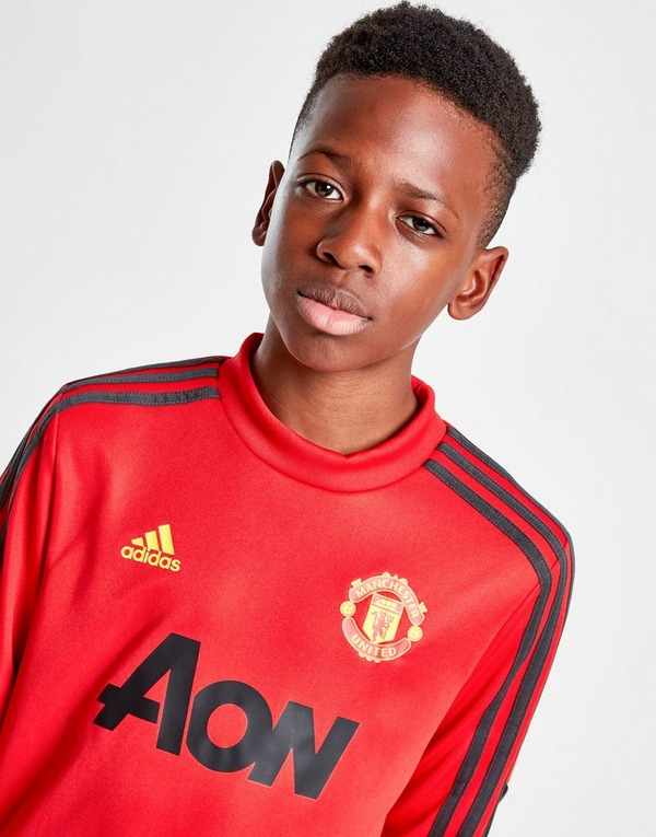 adidas Manchester United FC Training Top Junior