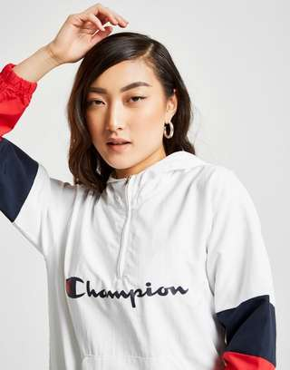 Champion Colour Block 1/4 Zip Jacket