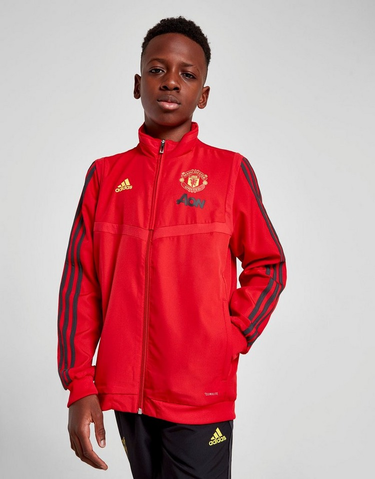 Buy adidas Manchester United FC Presentation Jacket Junior