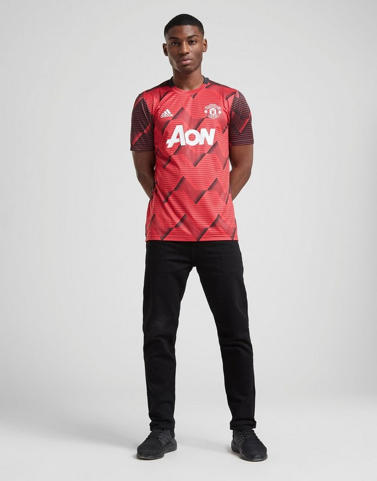 adidas Maillot Manchester United FC Avant-Match Homme