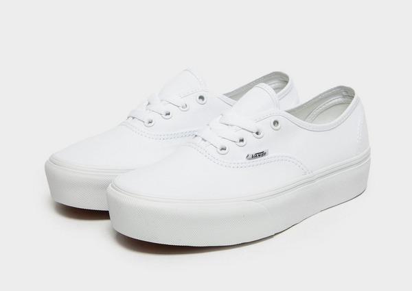 vans femme blanche authentic platform