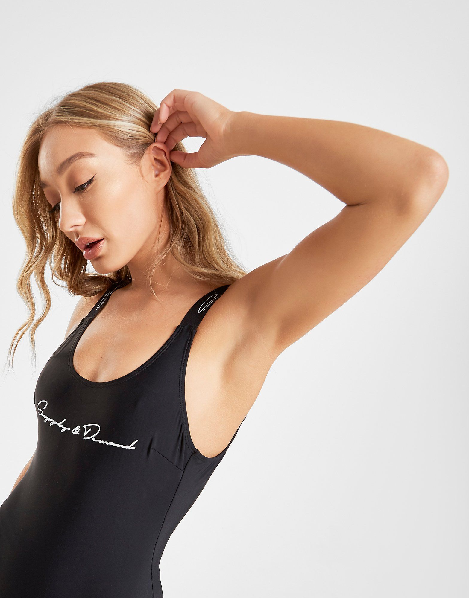 Supply & Demand Logo Scoop Swimsuit