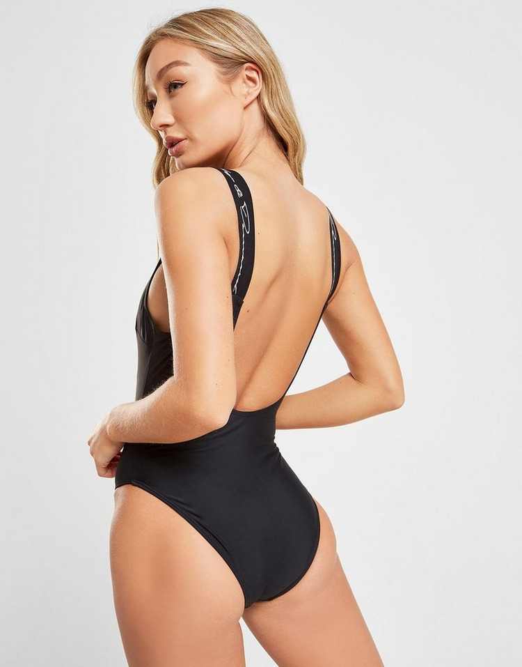 Supply & Demand Logo Scoop Swimsuit