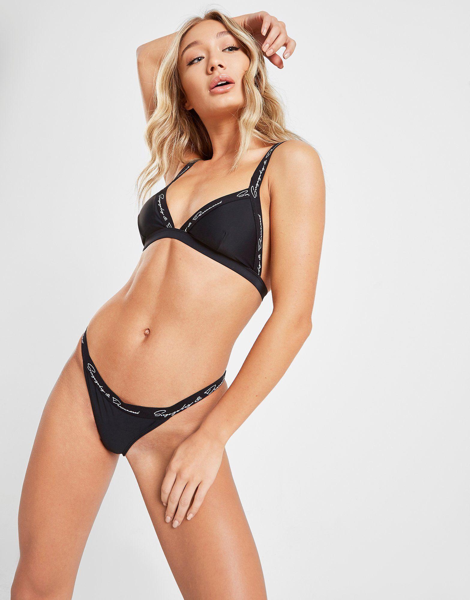 Supply & Demand Strap Bikini Top