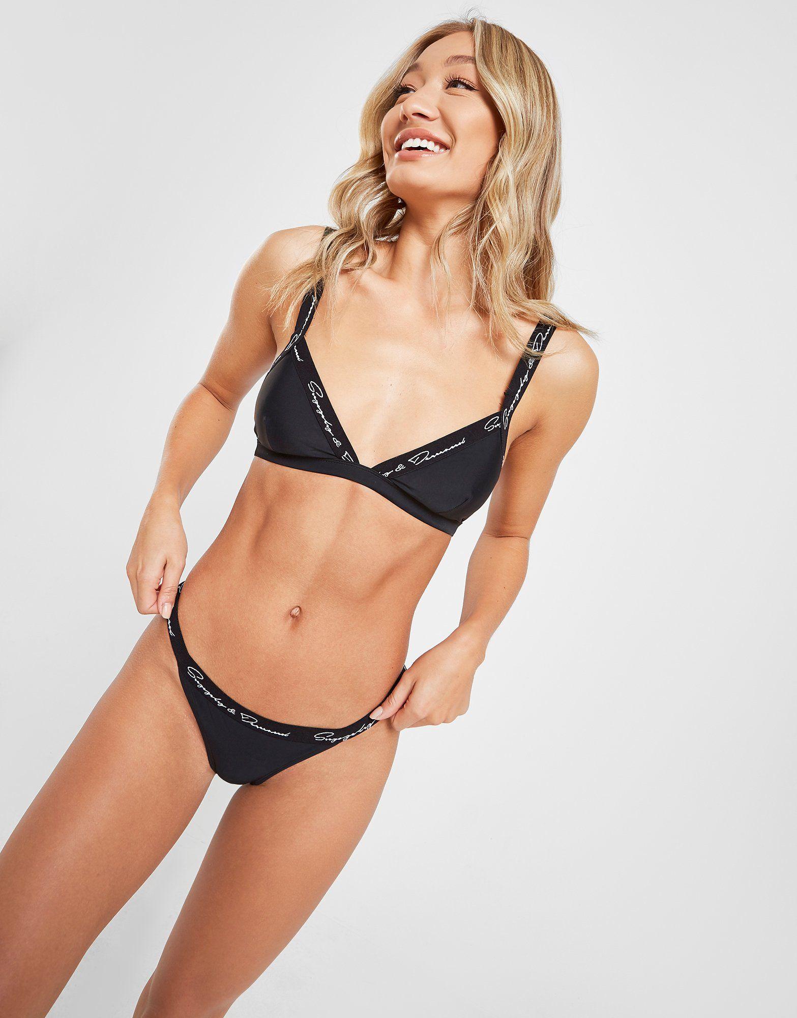 Supply & Demand Side Strap Bikini Bottoms
