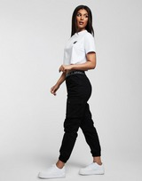 SikSilk Crop T-Shirt Dames
