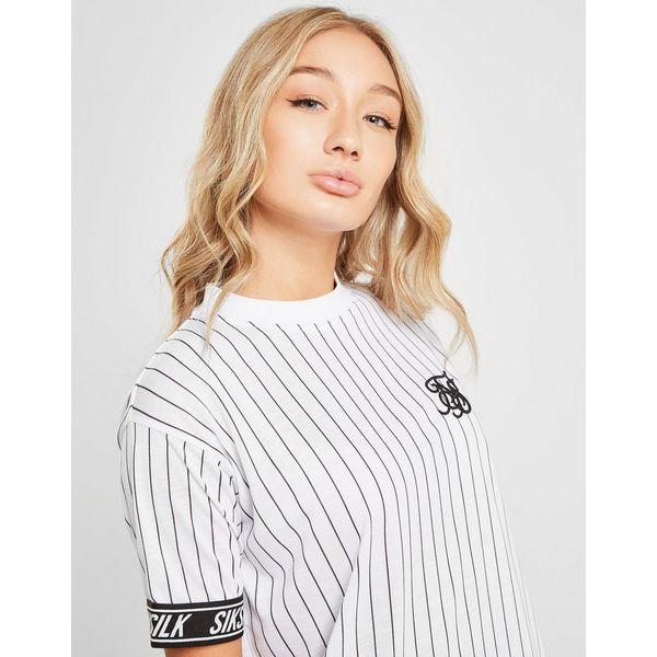 SikSilk Baseball Tape T-Shirt