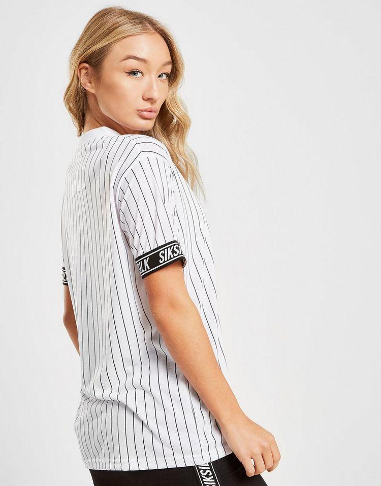 SikSilk camiseta Baseball Tape