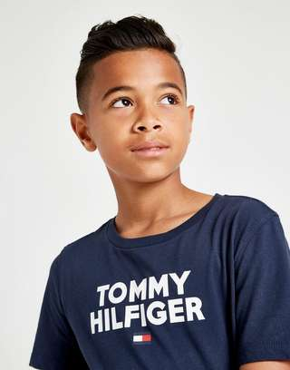 Tommy Hilfiger Large Logo T-Shirt Junior