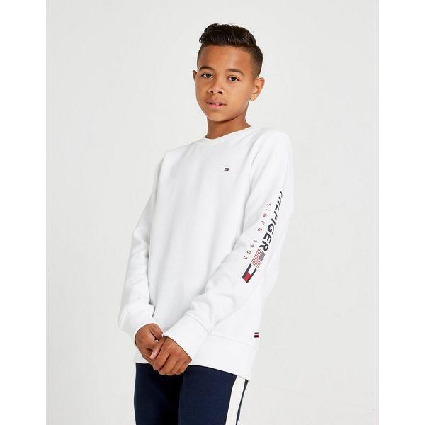 Tommy Hilfiger Flag Fleece Crew Sweatshirt Junior