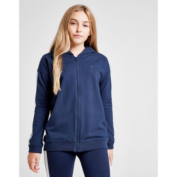 Tommy Hilfiger Girls' Essential Logo Full Zip Hoodie Junior