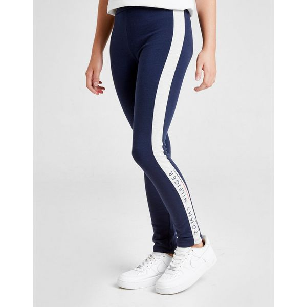 Tommy Hilfiger Girls' Essential Logo Leggings Junior