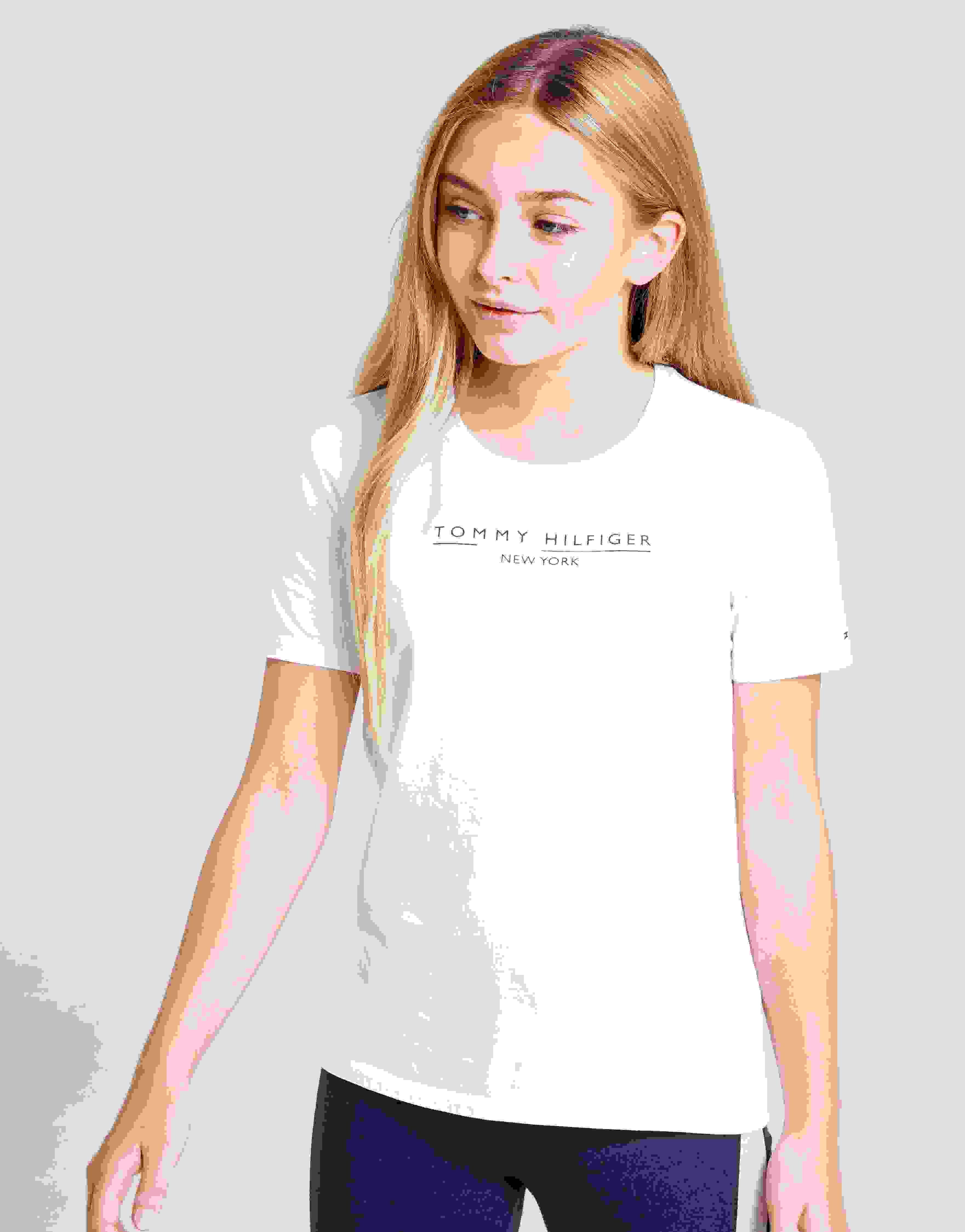 Tommy Hilfiger Girls Essential Tee S//S T-Shirt