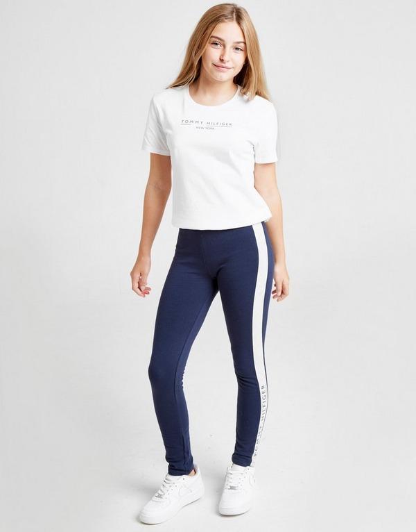 Tommy Hilfiger Girls' Essential Logo T-Shirt Junior