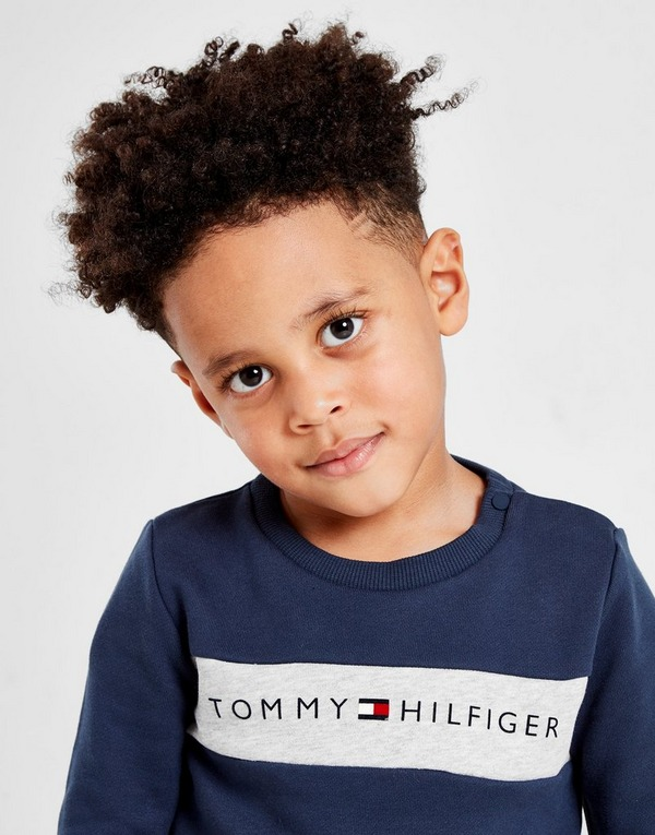 Tommy Hilfiger Logo Crew Sweatshirt Infant