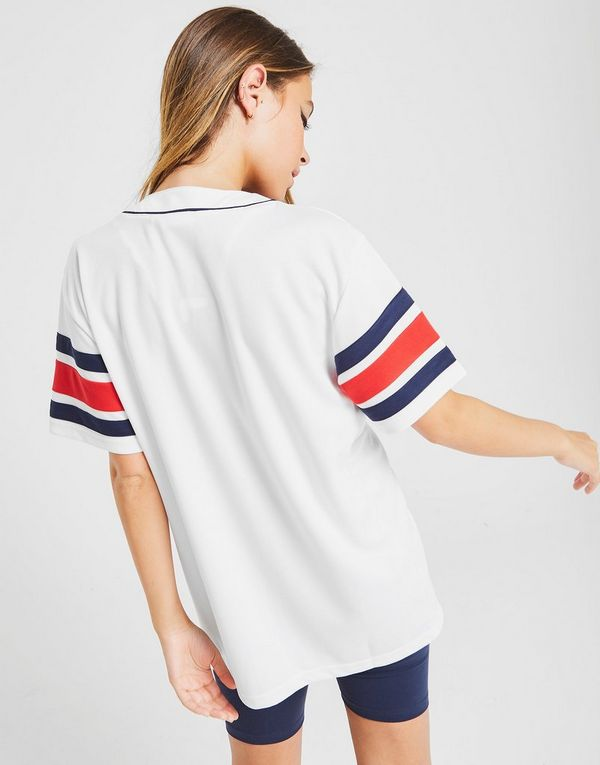 Fila Stripe Baseball T-Shirt